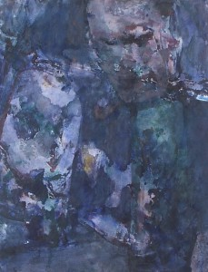 Korporaal Ivanov - Acryl op papier - 75x87