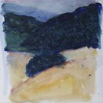 Cantal - Acryl op papier - 32x30 - 2017