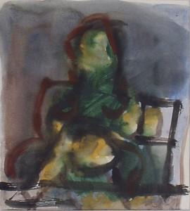 Ger Meinema - Kind - Acryl op papier