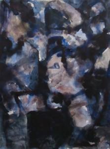 Schaduwen nr.2 - Acryl op papier - 75x87