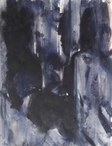 Schaduwen - Acryl op papier - 75x87